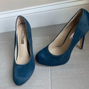Inc calf hair heels